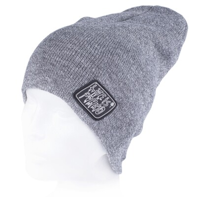 TAXI BEANIE LONG GREY