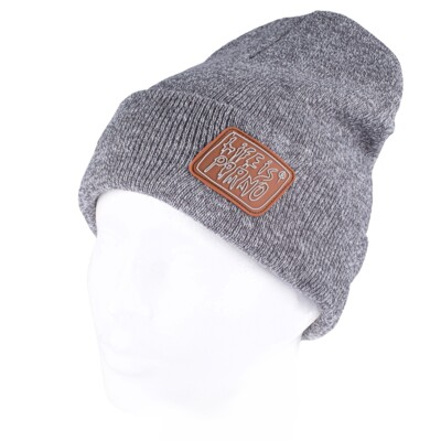 TAXI BEANIE GREY/BROWN