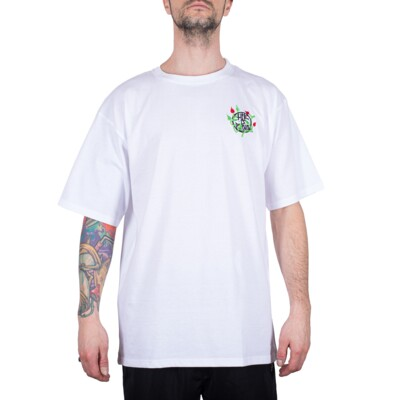 NATURE EMBROIDERY TEE WHITE