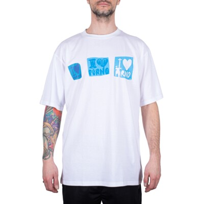 STICKERS TEE WHITE