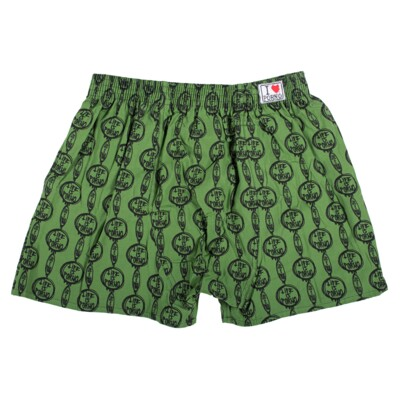 CHAIN BOXERS GREEN