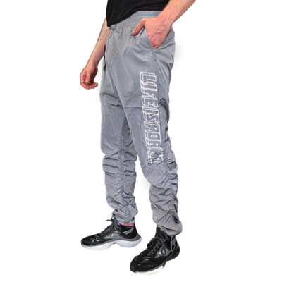 WINDBREAKER PANTS GREY