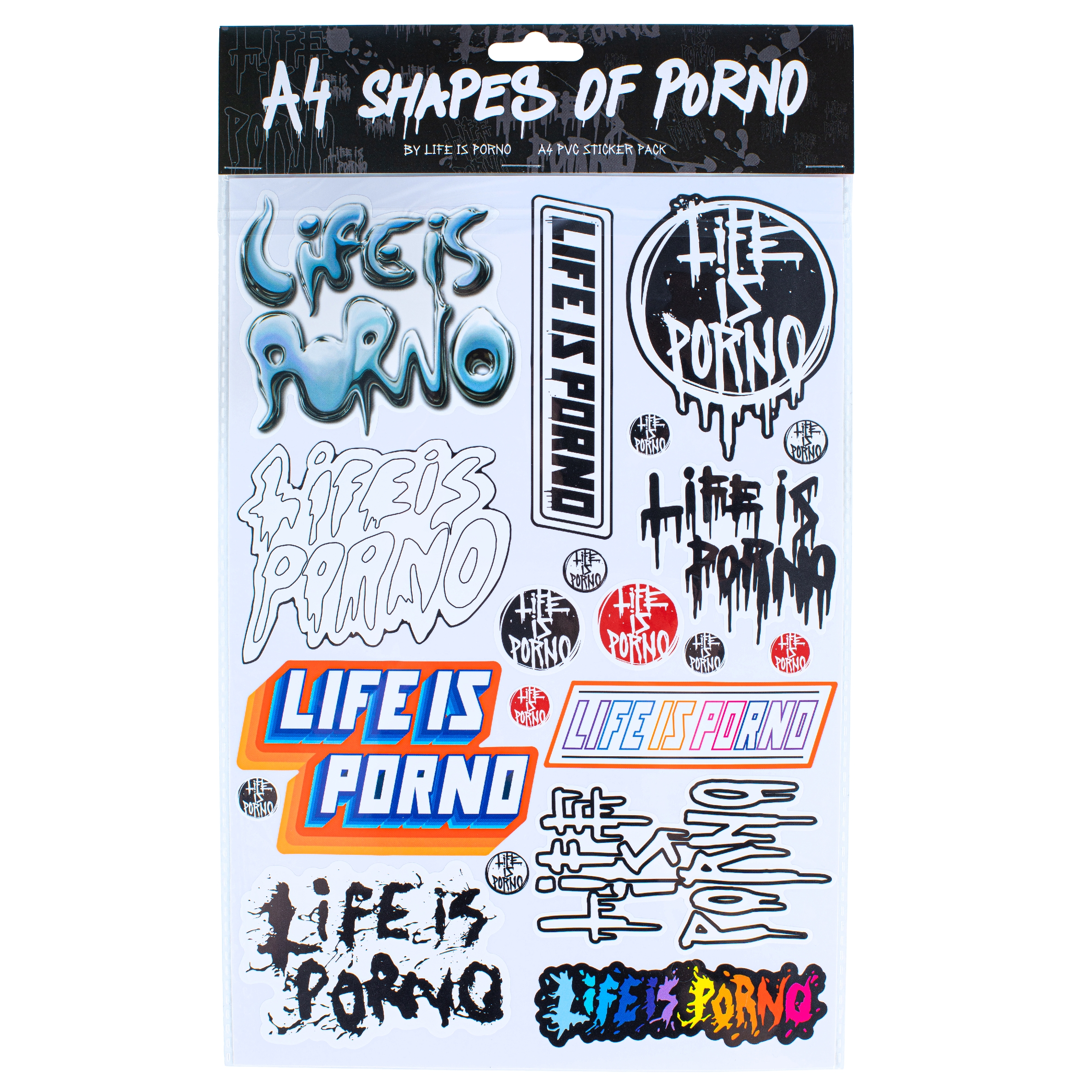 Life is Porno Stickers