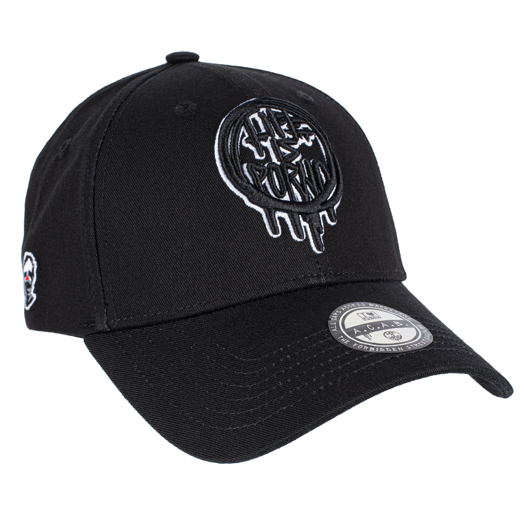 PLAYBALL CAP BLACK