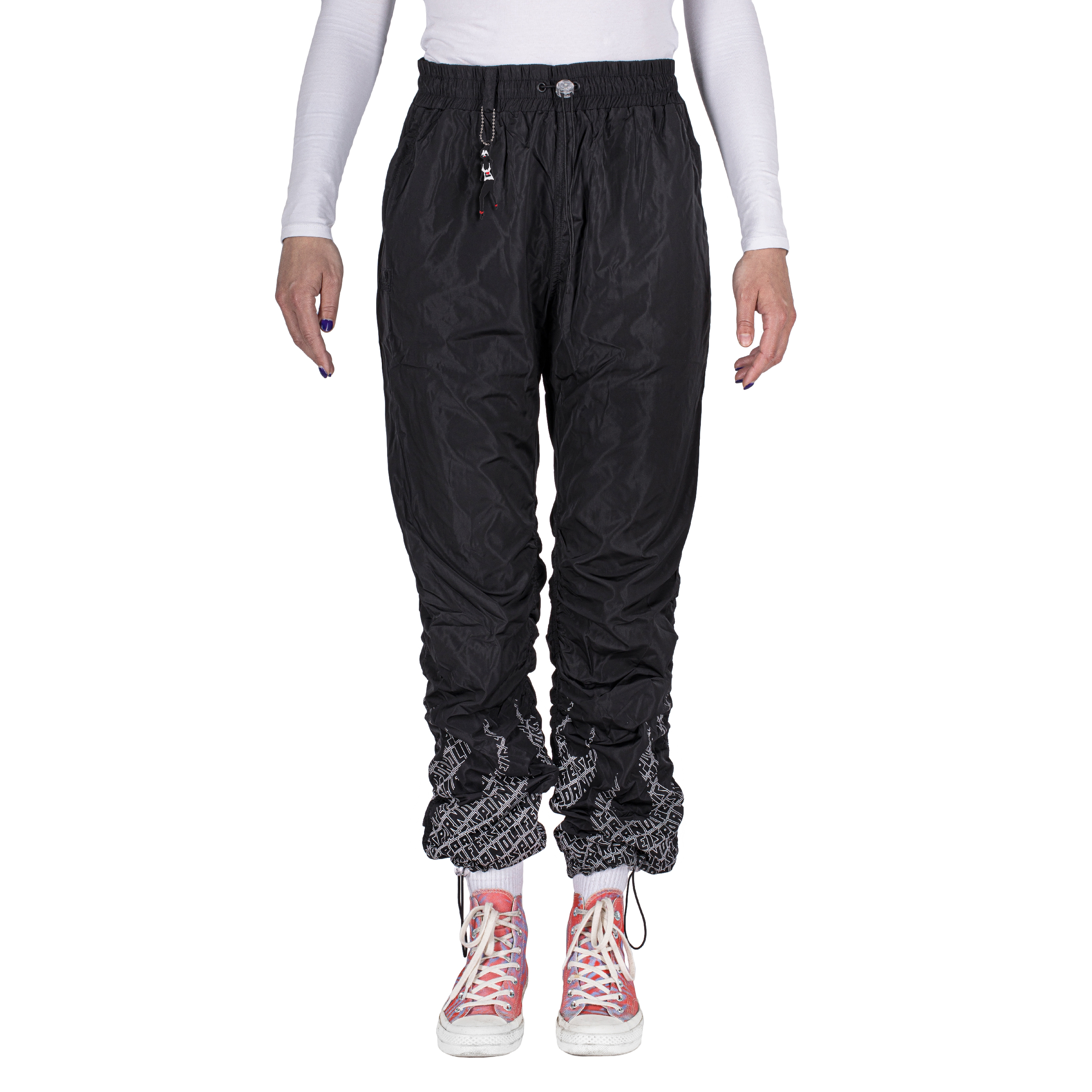LADIES FIRE PANTS BLACK