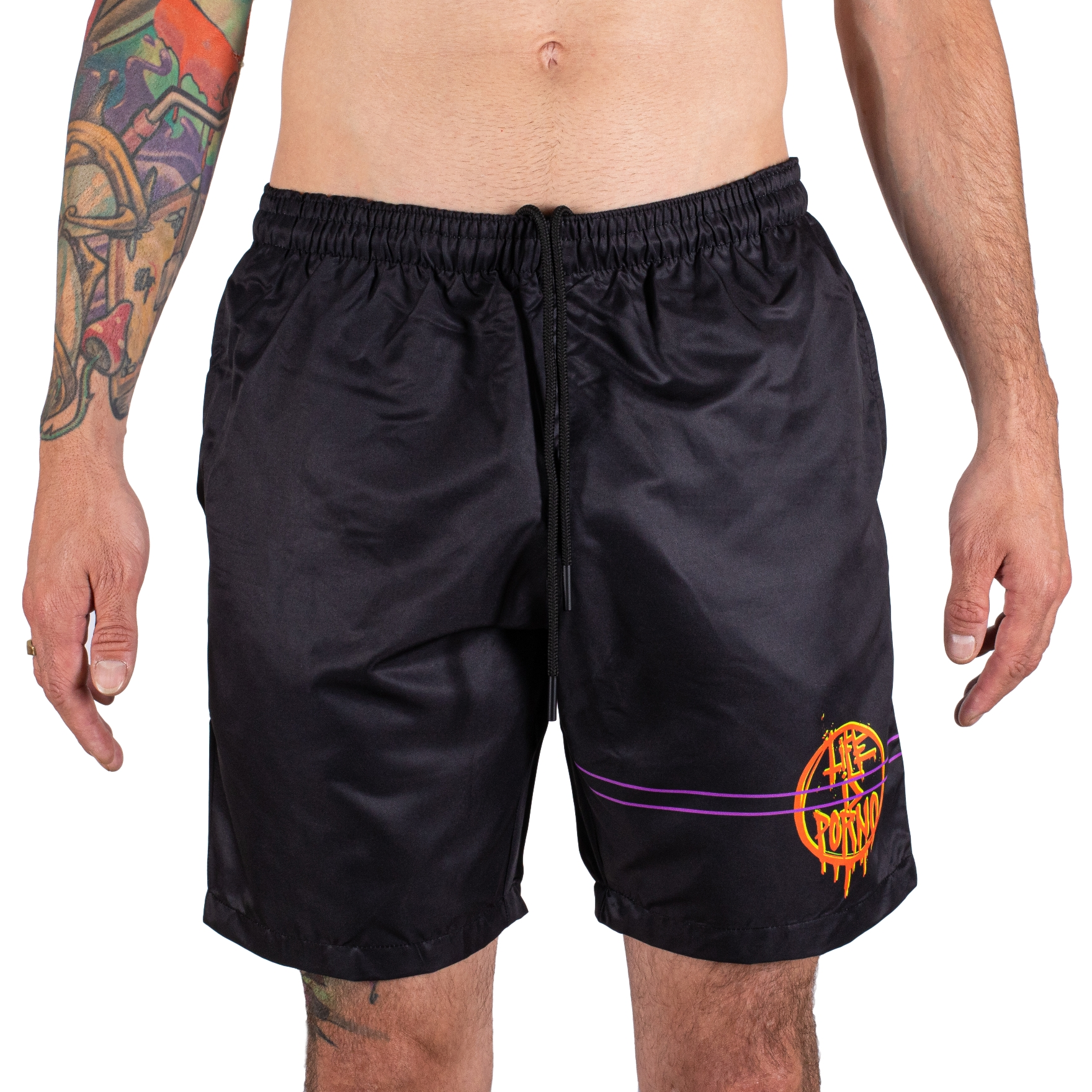 Orange Circle Swimshorts