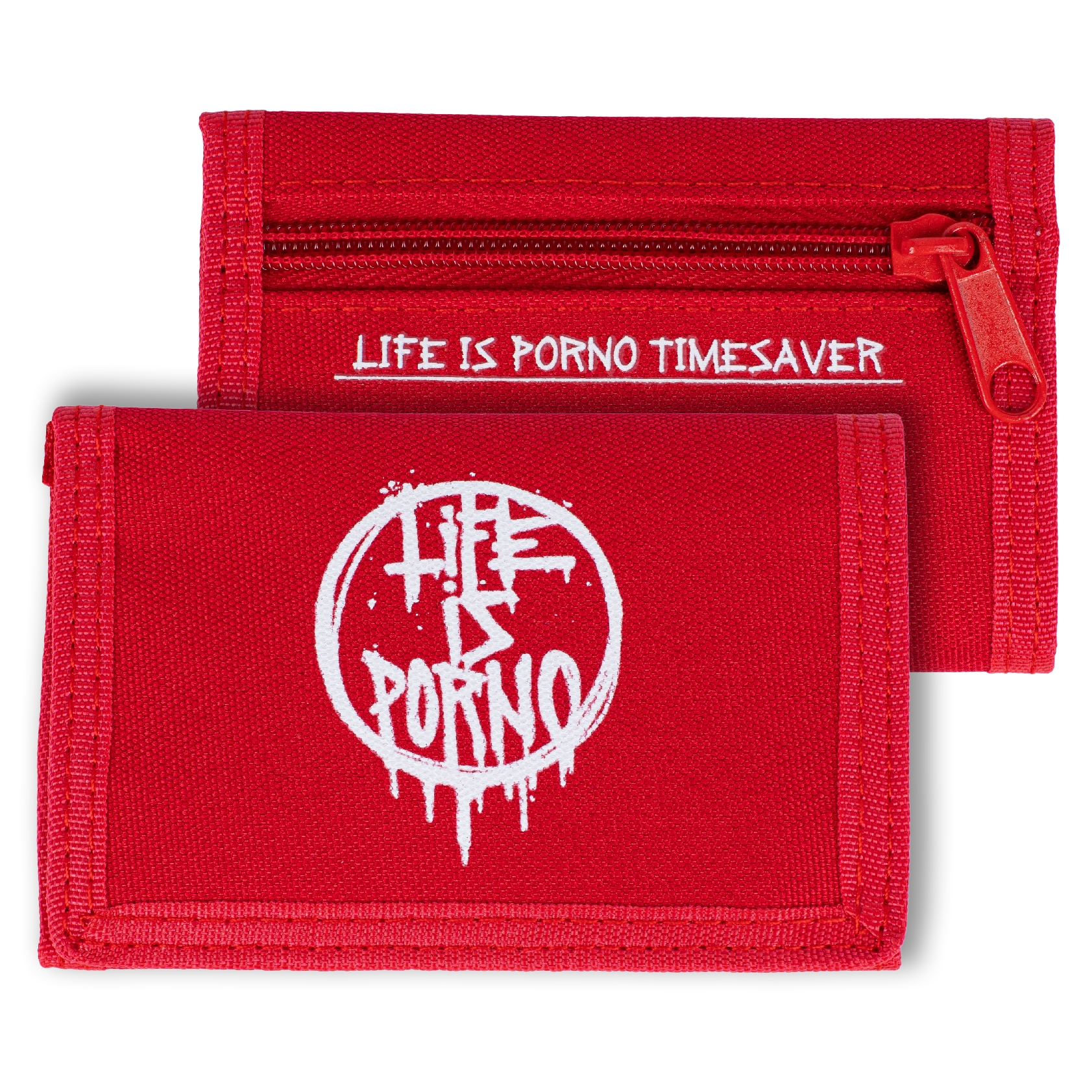TIMESAVER WALLET RED