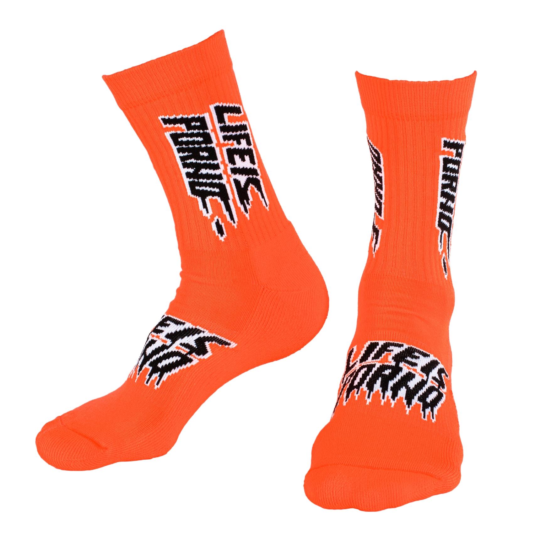 Sox LIP: Neon Orange