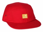 Pure 5 Panel Red: Yellow Vignette